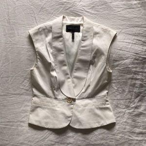 BCBGMAXAZRIA Shawl Lapel Blazer Vest